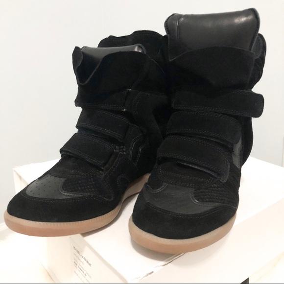 fc0c4885e645 Isabel Marant Shoes - Isabel Marant Bazil Wedge Sneaker